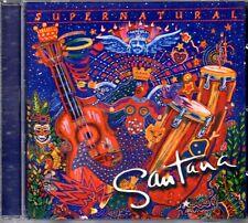 Santana – Supernatural CD 1999 Spain