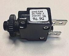 Zing Ear ZE-700S-3A Thermal Circuit Breaker