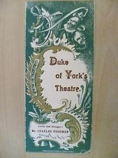 Duke of York's Theatre 1902- THE PRINCESS'S NOSE by H A Jones