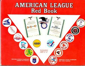 Official American League Red Book - 1977