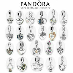 NEW PANDORA  ALE S925 SILVER  FAMILY & FRIENDS COLLECTION DANGLE CHARM