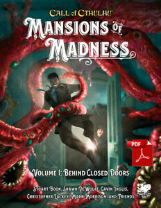 Call of Cthulhu: Mansions of Madness Vol.I Behind Closed Doors