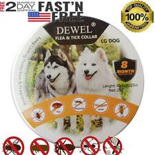 Dewel Cheaper than Seresto!Flea & Tick Collar for Large Dog 8 month Over 18 lb