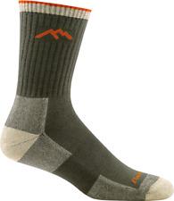 Darn Tough 1931 OLIVE Men's Socks Coolmax Micro Crew Cushion Hike/Trek M L XL