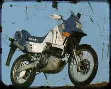 GILERA Xrt60 89 1 A4 Foto Impresión moto antigua añejada De