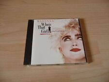 CD Soundtrack Who`s that girl - Madonna - 1987