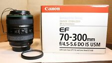 Canon EF 70-300mm f/4.5-5.6 DO IS USM Lens|Diffractive Optics|Mint Condition