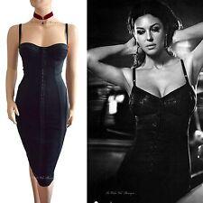 BNWT DOLCE & GABBANA D&G black bustier corset floral lace DRESS size 8 4 40