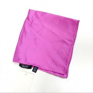 NORDSTROM Men's Pocket Square 100% Silk