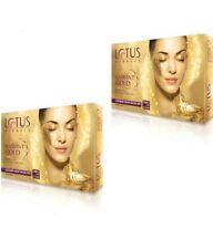 Lotus Herbals Radiant Gold Cellular Glow Facial Kit, 37gm x 2 (Set of 2 Kit)
