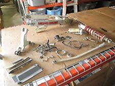 86 Yamaha YZ125 Mono Mount Mono Shock Swingarm Kill Switch Brake Pedal Parts Lot