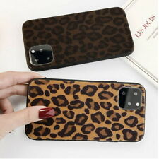 Leopard Print Bumper Hybrid Hard Case Cover For iPhone 11 Pro Max XS XR X 8 7 6s