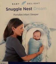 Baby Delight Snuggle Nest Dream Portable Infant Sleeper - Sleepy Skies Pattern