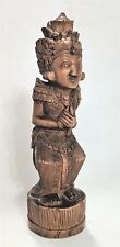 Bali Wood Sculpture Carving Indonesian Folk Art