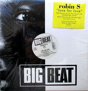 """ROBIN S. - LOVE FOR LOVE 12"""" 33 4-MIX - IN EXCELLENT CONDITION - U.S.A. PRESSING"""
