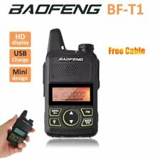 BAOFENG BF-T1 2-Way Radio Dual Band 400-470Mhz Walkie Talkie CTCSS SOS Kopfhörer