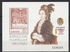 AUCT1207) Spain 1990, Nat. Philatelic Exhib. Patio De La Infanta Mini Sheet, MUH