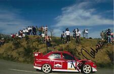 Tommi Makinen Hand Signed 12x8 Photo Mitsubishi Rally 1.