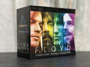 PINK FLOYD • REMASTERED • STUDIO COLLECTION - RARO BOX 17 CD NUOVO NEW