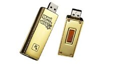Rockstar Games Grand Theft Auto V GTA 5 Gold USB rare promo swag
