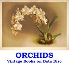 Orchids Growing Gardening Orchid Cultivation Collection 21 Vintage Books on Disc