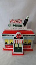 Enesco 1999 Coca Cola Truckers Welcome Always Open Diner Cookie Jar #G56
