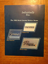 1982 Buick Limited Edition Series Brochure