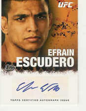 2010 TOPPS UFC FIGHTER AUTOGRAPHS EFRAIN ESCUDERO #FA-EE