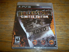 Bulletstorm Limited Edition PS3 Genuine Game NEW SEALED