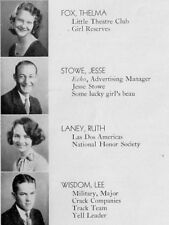 1932 Dallas TX Forrest High School Yearbook~Photos~History~Football~Baseball~++