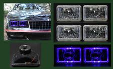 H4656 H4666 H4651 H4646 4 Blue Halo Headlights 4x6
