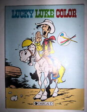 DESSINS A COLORIER SPECIAL LUCKY LUKE DARGAUD 1984