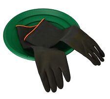 """Gold Panning Prospecting Rubber Gloves 18"""" L Waterproof Heavy Duty Sluice Mining"""