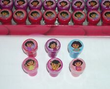 12 Nickelodeon Dora Explorer Self Inking Stamper Pencil Topper Girl Birthday Toy