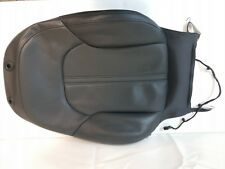 Audi A6 4G C7 Seat Cover Leather Valcona Soul Black Perforated 4G0881806AK 22A
