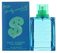 Pop Pour Homme by Andy Warhol for Men EDT Cologne Spray 1.7 oz. New in Box