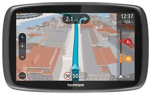 TomTom GO 500 Navigationssystem XXL Free liftime Maps HD Traffic via Smartphone