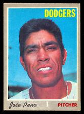 1970 TOPPS OPC O PEE CHEE BASEBALL #523 JOSE PENA EX-NM L A DODGERS Card