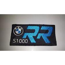 Patch pièce brodé BMW S 1000 RR broderie cm 10 x 5 thermo-collant