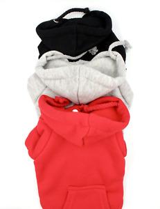 Basic Casual Dog Hoodie Sweatshirt Shirt Pet Coat