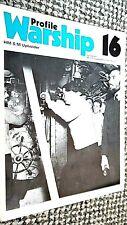 PROFILE WARSHIP #16: HM S/M UPHOLDER: SUBMARINE (1972)