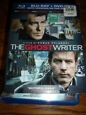 THE GHOST WRITER - BLU-RAY & DVD - WATCHED ONCE!!