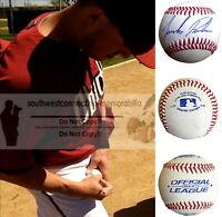 Jordan Pacheco Arizona Diamondbacks Signed Autograph Baseball Rockies Reds Proof