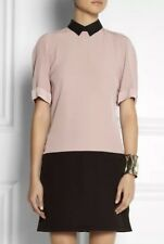 Authentic Victoria Beckham - Black And Rose Pink Dress crepe, New With Tags