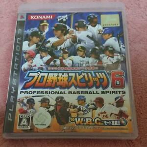 PS3 Professional Baseball Spirits 6 47209 Japanese ver from Japan