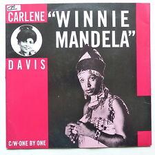 """MAXI 12"""" REGGAE   CARLENE DAVIS Winnie Mandela 8079"""