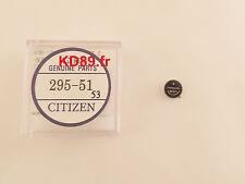 Original Citizen eco drive solar movement capacitor battery 295-51 E100 E101