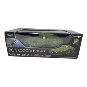 RC Crocodile Head Electric Racing RC Boat Prank Remote Control Spoof Alligator