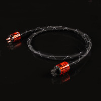 High Quality OFC Copper Audiophile Power Cord Cable AC Mains Power cable