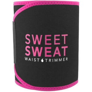 Sports Research Sweet Sweat Waist Trimmer Belt - Medium - Pink